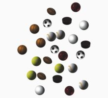 SPORTS BALLS by Colin Van Der Heide