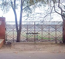 A gate that is obviously meant to remain closed by ashishagarwal74