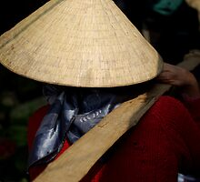 Vietnam Market Lady by Matt Bishop