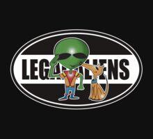 legal aliens Kids Tee
