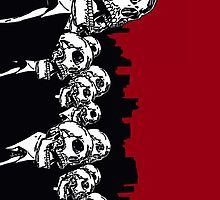 Skulls Obey Phone Case by MC3Matt