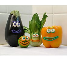 Vegan Vegetables Photographic Print