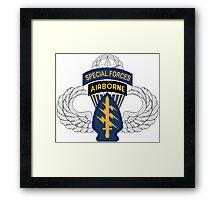 Special Forces Airborne Master Framed Print