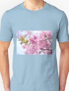 Double cherry blossoms Unisex T-Shirt