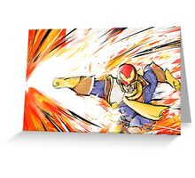Captain Falcon | Falcon Punch Greeting Card