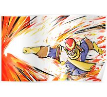 Captain Falcon | Falcon Punch Poster