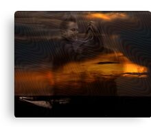 Vibration Series... LIFE AFTER LIFE Canvas Print