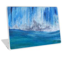 """Blue Storm"" Laptop Skin"