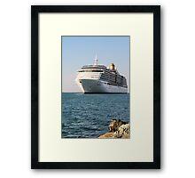 Bon-Voyage-Arcadia. Framed Print
