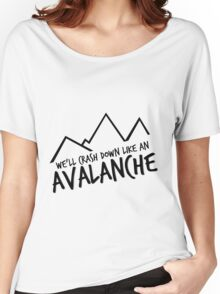 AVALANCHE Women's Relaxed Fit T-Shirt