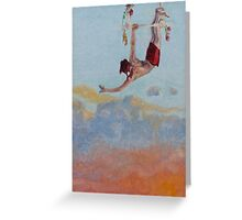 Trapeze - Flame Greeting Card