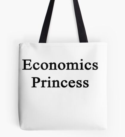Economics Princess  Tote Bag