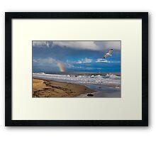 East Beach, Santa Barbara Framed Print