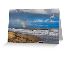 East Beach, Santa Barbara Greeting Card