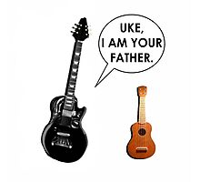 ukulele humor Photographic Print