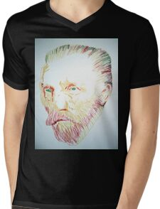 Vincent van Gogh Mens V-Neck T-Shirt