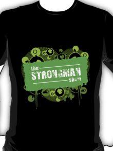 Green Strongman Grunge T-Shirt