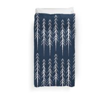 Pine Trees Duvet Cover
