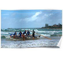 Lorne SLSC surf carnival Feb 2009 (19) Poster