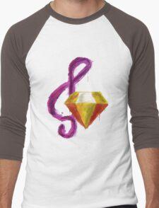 Paint Splatter - Adagio Dazzle Men's Baseball ¾ T-Shirt