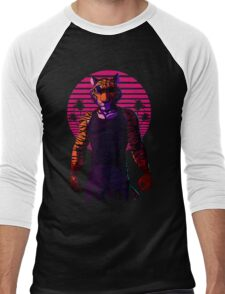 Midnight Animal - Tiger Men's Baseball ¾ T-Shirt