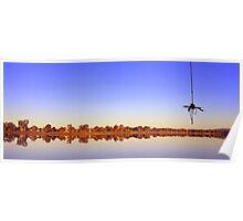 Lake Albert swing Poster