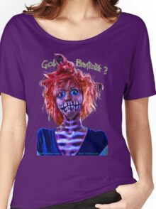 Got Brains zombie pin-up girl  Women's Relaxed Fit T-Shirt