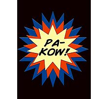 Pa-Kow Comic Exclamation Shirt Photographic Print