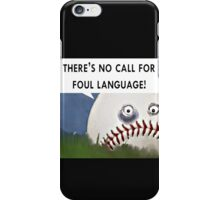 baseball humor iPhone Case/Skin