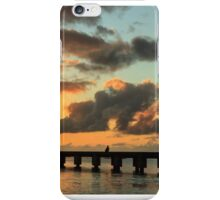 Hanalei Pier Sunset Panorama iPhone Case/Skin