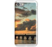 Hanalei Pier Sunset Panorama iPhone Case/Skin