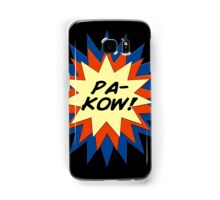 Pa-Kow Comic Exclamation Shirt Samsung Galaxy Case/Skin