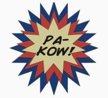 Pa-Kow Comic Exclamation Shirt Kids Clothes