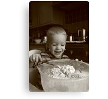 Yummy! Canvas Print