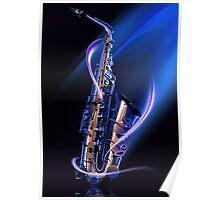 Magical Saxophone Poster