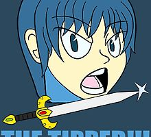 Super Smash Brothers- Marth - THE TIPPER by Kittyfries