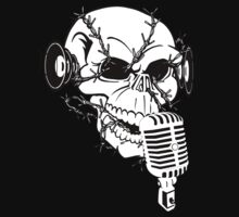 Singing Skull  by DApixara