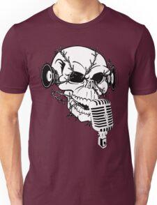 Singing Skull  Unisex T-Shirt