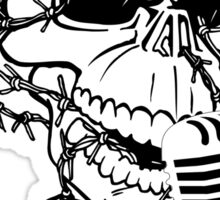 Singing Skull  Sticker