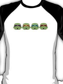 TEENAGE MUTANT NINJA TROOPERS (green) T-Shirt