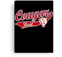 Cougar Bait Canvas Print