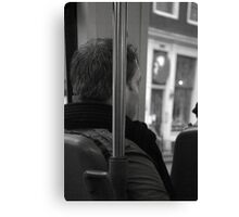 Alone in Thought Canvas Print