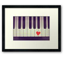 Love Notes Framed Print