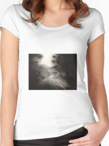 Night Driving Women's Fitted Scoop T-Shirt
