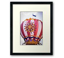 Mickey's Airship Framed Print