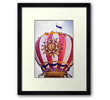 Mickey's Airship Framed Print