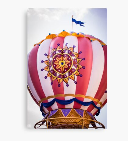 Mickey's Airship Canvas Print