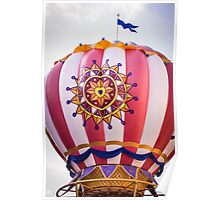 Mickey's Airship Poster