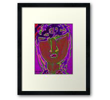 Portrait of Precious Framed Print