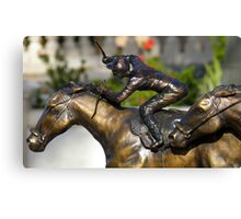 Immobile Action Canvas Print
